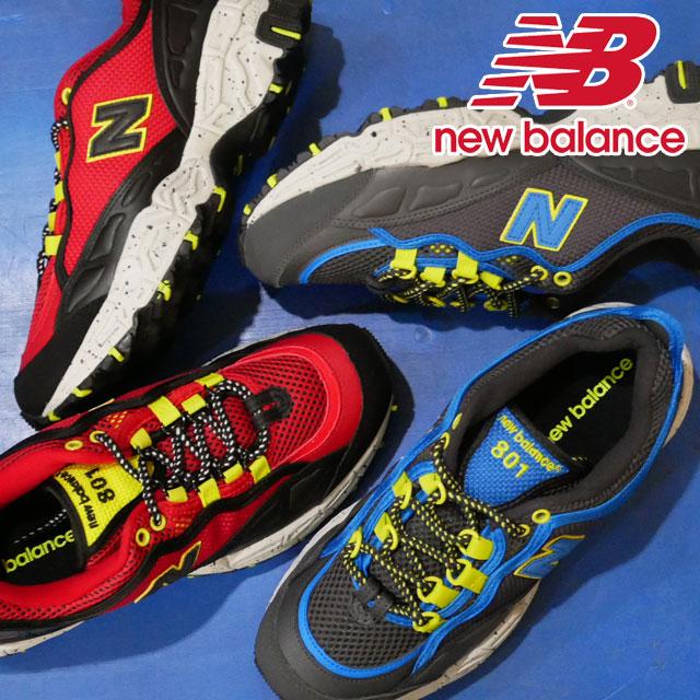【送料無料】ニューバランス new balance スニーカー メンズ ML801 ワイズD ローカット トレイルランニング カジュアルシューズ NB 靴 ダークグレー レッド evid |4