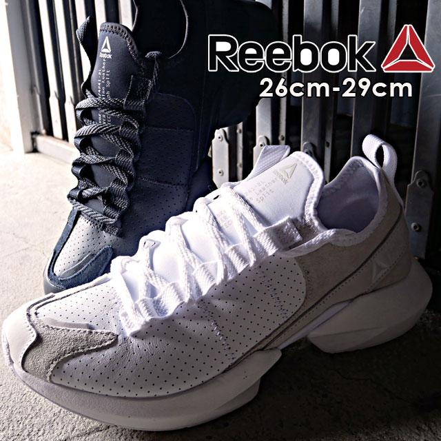 【送料無料】リーボック Reebok スニーカー メンズ DV6860 DV6861 ソールフューリー LE ローカット ランニングシューズ 運動靴 ブラック ホワイト evid
