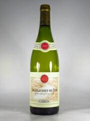 パールがかった金色の輝く色調。ゆったりと白い花の香りのこのワインは、口に含むととろりと果肉感があり、程よい酸味で上品な味わい。リッチでエレガントな白! 【ポイント5倍設定中!】【あす楽】【正規品】E.GUIGAL ギガル シャトーヌフ デュ パプ ブランChateauneuf du Pape Blanc 750ml フランス ローヌ 白ワイン グルナッシュブラン ルーサンヌ 手摘み リュットレゾネ 天然酵母 ALC13.5% コルク 8か月熟成