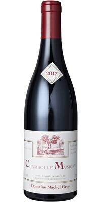 【あす楽】ミッシェル・グロ シャンボール・ミュジニー 2017 赤 フランス AOC ピノ・ノワール ALC度数13.0% 赤ワイン フルボディ 飲み頃温度17℃ グロ家