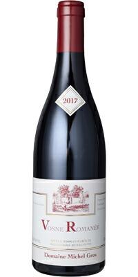 【あす楽】ミッシェル・グロ ヴォーヌ・ロマネ 2017 赤 フランス AOC ピノ・ノワール ALC度数13.0% 赤ワイン フルボディ 飲み頃温度17℃ グロ家
