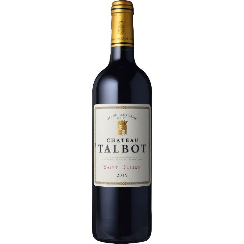 【あす楽】シャトー・タルボ 2015 750ml フランス ボルドー オーメドック サン・ジュリアン AOC 第4級 カベルネ・ソーヴィニヨン ALC度数13.5% 赤ワイン フルボディ 飲み頃温度17℃ メドック ワインスペクテーター92点