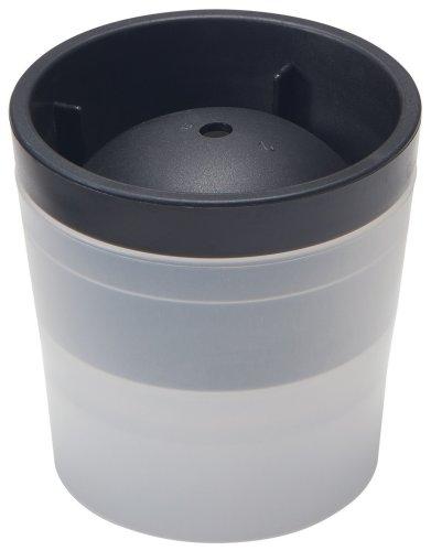アイスボール メーカー ブラック 製氷器 バー 直径60mm 丸氷 ロックグラス ウィスキー 焼酎 おしゃれ スタッキング シャーベット ポリプロピレン エラストマー 日本製