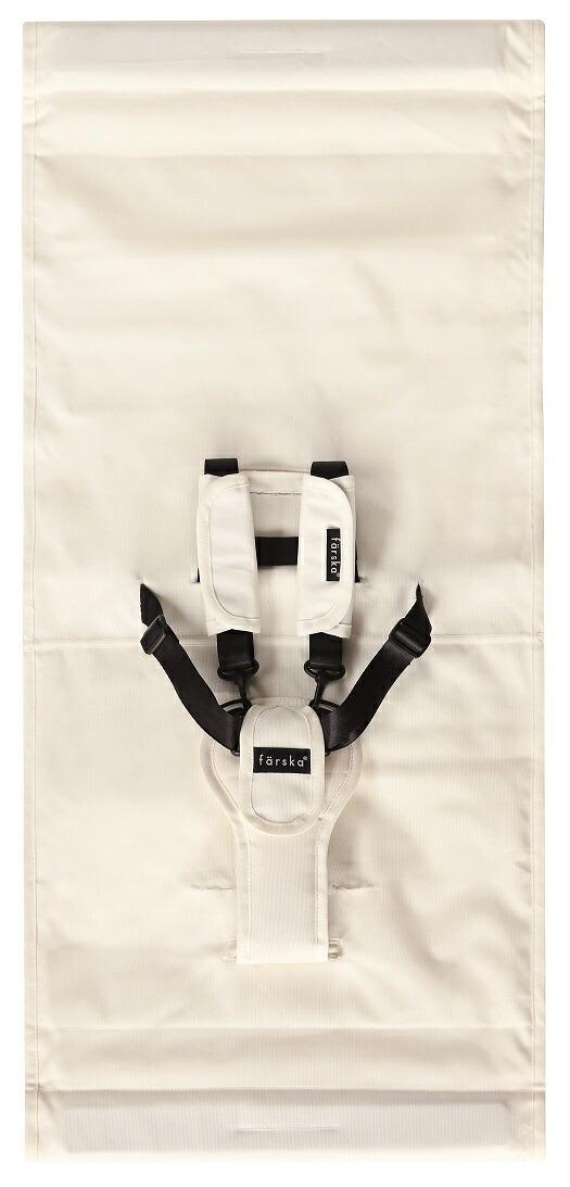 【新入荷】ファルスカ スクロールチェア用 スペアシート ホワイト 洗い替え 洗濯可能 強度 ポリエステル 撥水加工 汚れを気にせず使える 安心 QTEC基準合格 検品検針済み グランドールインターナショナル