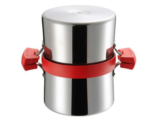 【新入荷】AUX オークス UCHICOOK ウチクック クイックフライヤー レッド UCS2 オイルポット 揚げ物鍋 揚げる ろ過する 保存する 片付けラクチン キッチンウェア 機能性 デザイン性 シンプル インテリア スタイリッシュ ガス対応 IH対応