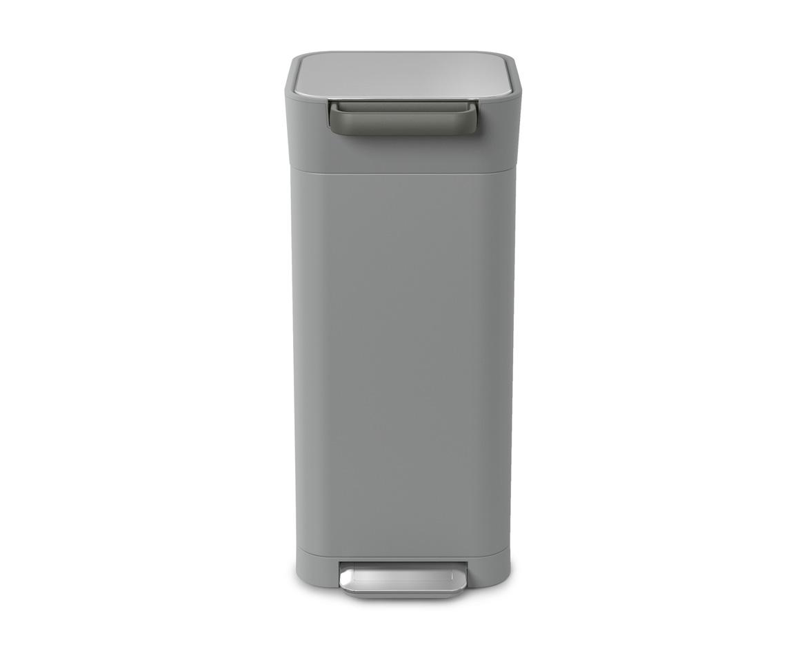 【新入荷】【正規販売店】【送料無料】JosephJoseph ジョセフジョセフ クラッシュボックス 20L ペブル(ライトグレー) ダストボックス ゴミ箱 おしゃれ インテリア グッドデザイン賞 衛生的 ゴミを1/3に圧縮 ゴミ捨ての回数が減る 脱臭フィルター付 ゴミ袋3枚付