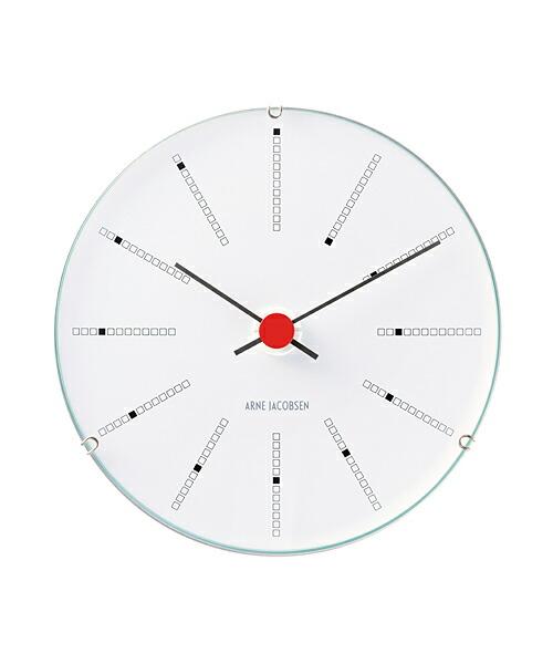 ARNE JACOBSEN Wall Clock Bankers 120mm アルネヤコブセン 壁掛け時計 バンカーズ 実用性 シンプル 存在感 インテリア 歴史的作品 最高傑作 デンマーク国立銀行 トータルデザイン 北欧 家具 雑貨 ギフト