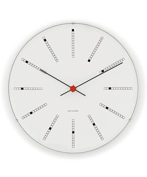 ARNE JACOBSEN Wall Clock Bankers 160mm アルネヤコブセン 壁掛け時計 バンカーズ 実用性 シンプル 存在感 インテリア 歴史的作品 最高傑作 デンマーク国立銀行 トータルデザイン 北欧 家具 雑貨 ギフト