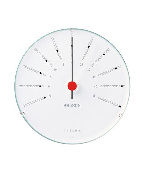 ARNE JACOBSEN Bankers Thermometer 温度計 120mm アルネヤコブセン バンカーズ サーモメーター 実用性 シンプル 存在感 インテリア 歴史的作品 最高傑作 デンマーク国立銀行 トータルデザイン 北欧 家具 雑貨 ウェザーステーション ギフト