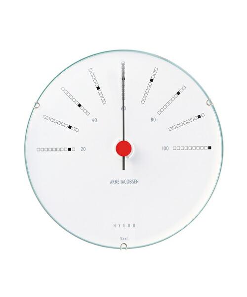 ARNE JACOBSEN Bankers Hygrometer 湿度計 120mm アルネヤコブセン バンカーズ 実用性 シンプル 存在感 インテリア 歴史的作品 最高傑作 デンマーク国立銀行 トータルデザイン 北欧 家具 雑貨 ウェザーステーション ギフト