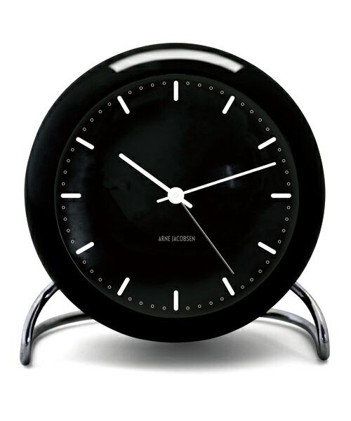 ARNE JACOBSEN TableClock CityHall アルネヤコブセン 置き時計 テーブルクロック シティホール 現代仕様 モディファイ LEDライト ムーブメントセンサー スヌーズ機能 単3電池 アラーム プロダクト シンプル モダニズム 北欧 ギフト