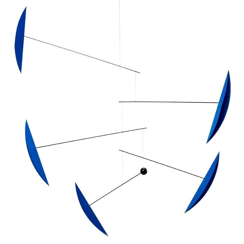 Flensted Mobiles フレンステッド・モビール Tango タンゴ ブルー 動く彫刻 アート デンマーク 北欧 雑貨 インテリア 知育玩具 リラックス ギフト 出産祝