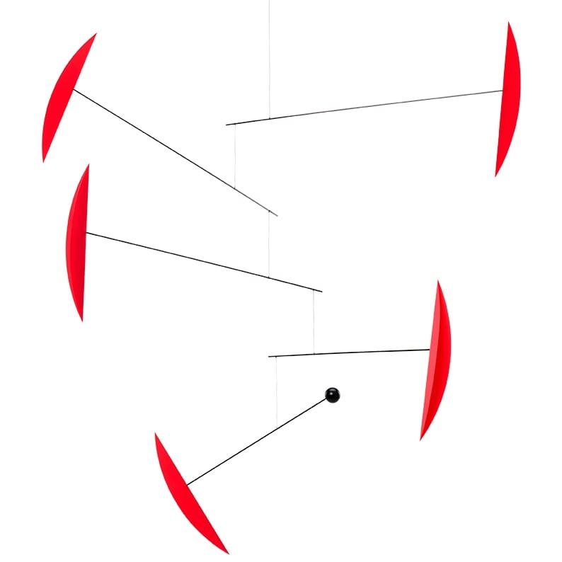 Flensted Mobiles フレンステッド・モビール Tango タンゴ レッド 動く彫刻 アート デンマーク 北欧 雑貨 インテリア 知育玩具 リラックス ギフト 出産祝