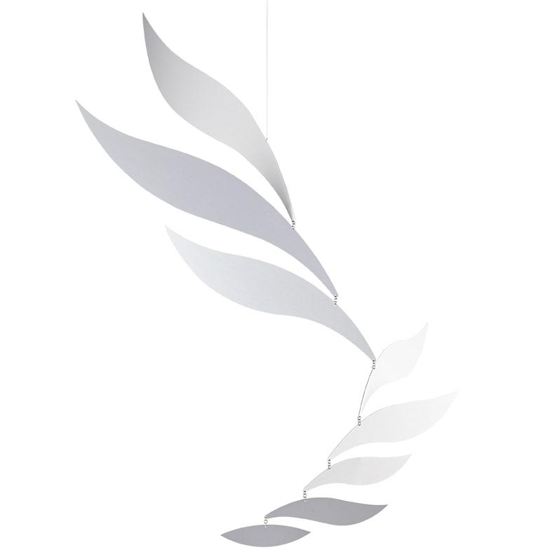 Flensted Mobiles フレンステッド・モビール Silver Rhythm シルバーリズム 動く彫刻 アート デンマーク 北欧 雑貨 インテリア 知育玩具 リラックス ギフト 出産祝