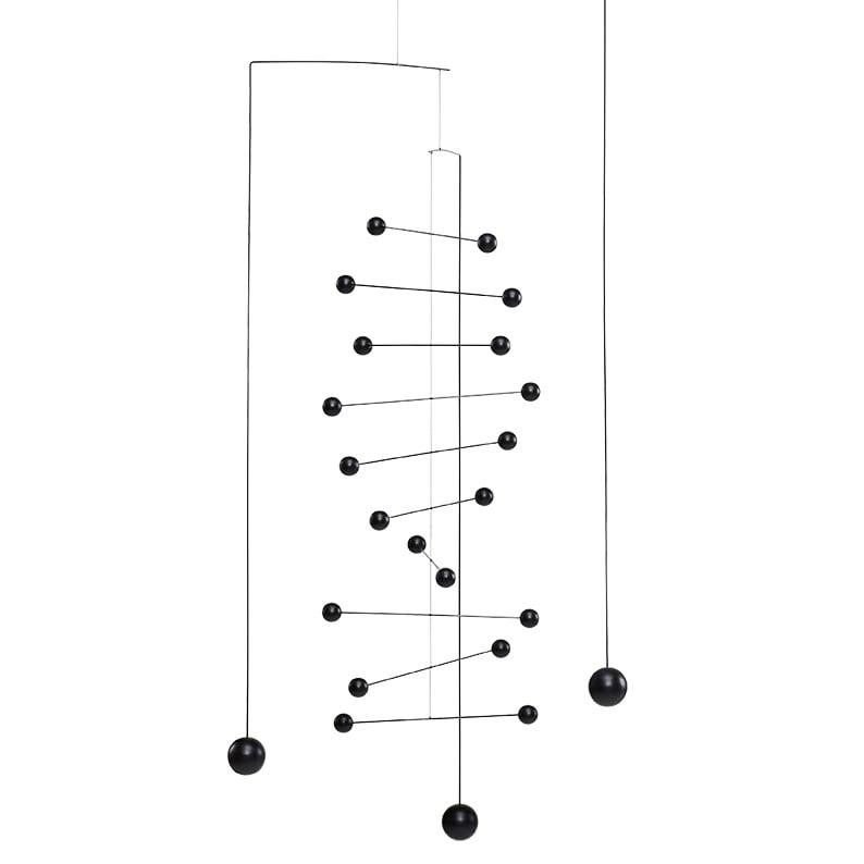 Flensted Mobiles フレンステッド・モビール Counterpoint カウンターポイント ブラック 動く彫刻 アート デンマーク 北欧 雑貨 インテリア 知育玩具 リラックス ギフト 出産祝