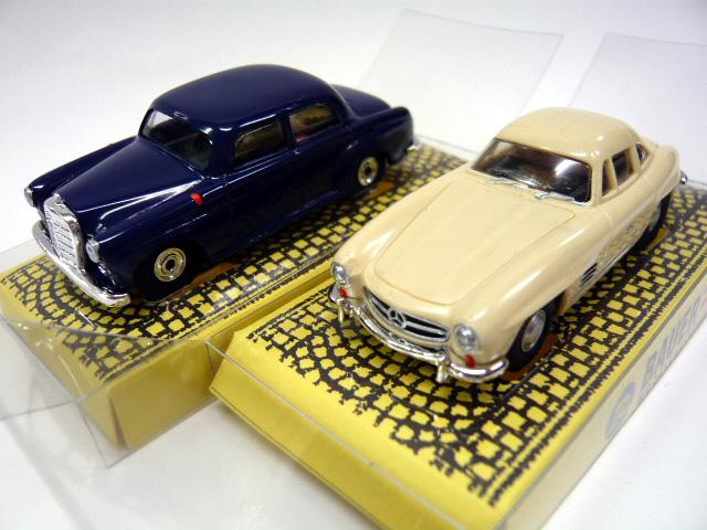 Bauer HOスケール スロットカー 限定セット☆ モデル着用 超目玉 注目アイテム HOスロットカー Mercedes-Benz