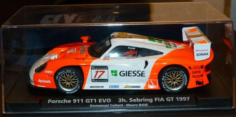 1 32スケール スロットカー FLY E-50 PORSCHE 911 GT1 3H. 期間限定の激安セール SEBRING 1997 32スロットカー 正規認証品 新規格 EVO FIA GT