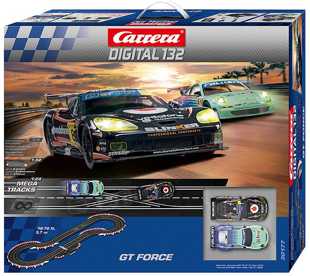 Carrera 1/32 Slot Car Set Digital GTフォースセット 30177 カレラ スロットカーデジタル コースセット