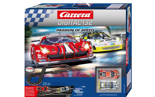 Carrera 1/32 Slot Car Set 20030195 Digita l132 Passion of Speed カレラ スロットカーデジタル コースセット