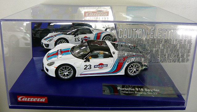 Carrera Porsche 918 Spyder Martini Racing No23 30698 Digital 1 / 32 Carrera  slot car digital 02P08Feb15