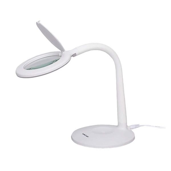《500円クーポン配布》 LEDルミルーペ ライト付きスタンドルーペ スタンド式拡大ルーペー スタンドルーペ ルーペ付きライトスタンド LEDライトスタンド LED拡大ルーペ