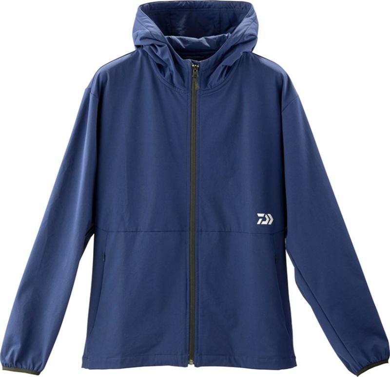 ジャケット 【ダイワ】 19 ウィンドブロックストレッチジャケット DJ-93009 ネイビー L 【2019秋冬モデル】 (G2)