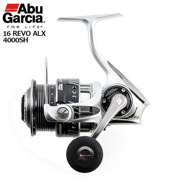 【マラソン中ポイント5倍】【アブ スピニングリール】16 REVO ALX 4000SH