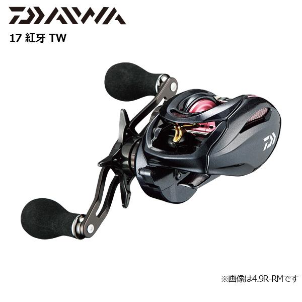 【即納可能】【ダイワ グローブライド】(G)17 紅牙 TW 7.3R(右)