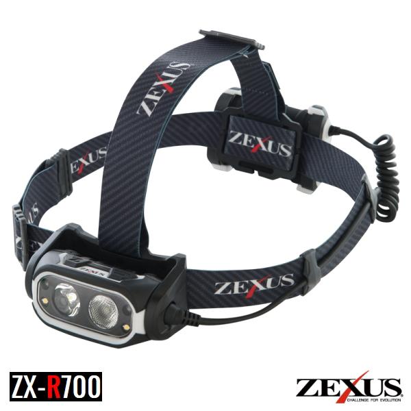 【冨士灯器】17 ZEXUS/ゼクサス ZX-R700 プロフェッショナルモデル 充電タイプ