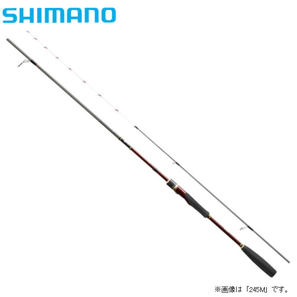 【SHIMANO/シマノ】18 炎月一つテンヤマダイ 225MH(スピニングモデル)【即納可能】