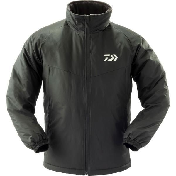 【26日までポイント5倍】ダイワ DJ-34009 中綿入り防寒ジャケット ブラック XL (G2) [90]