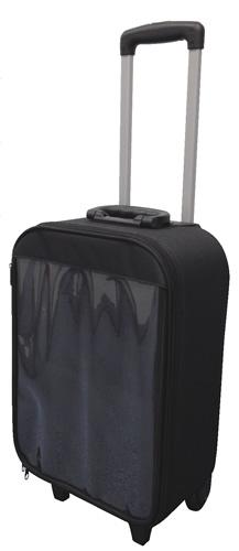 透明カバーで中身が魅せれるバッグpopmop魅せキャリー(K91-16G-005)