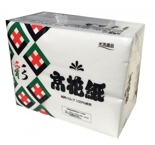 数量限定 化粧紙 超特価SALE開催 京花紙 彩 いろどり 1000枚入1袋 4903635780155 和光製紙製