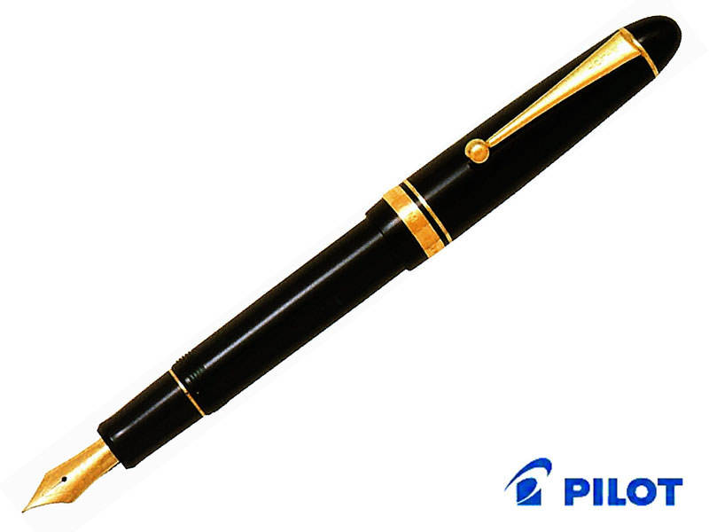 【万年筆】Pilot パイロットカスタムCustom 742 FKK-2000Rブラック/ディープレッドペン先:全15種類(DRは4種類のみ)