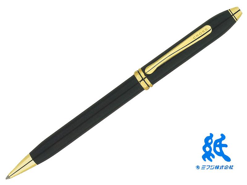【ボールペン】CROSS クロスTOWNSEND タウンゼント#572TWブラックラッカーボールペン