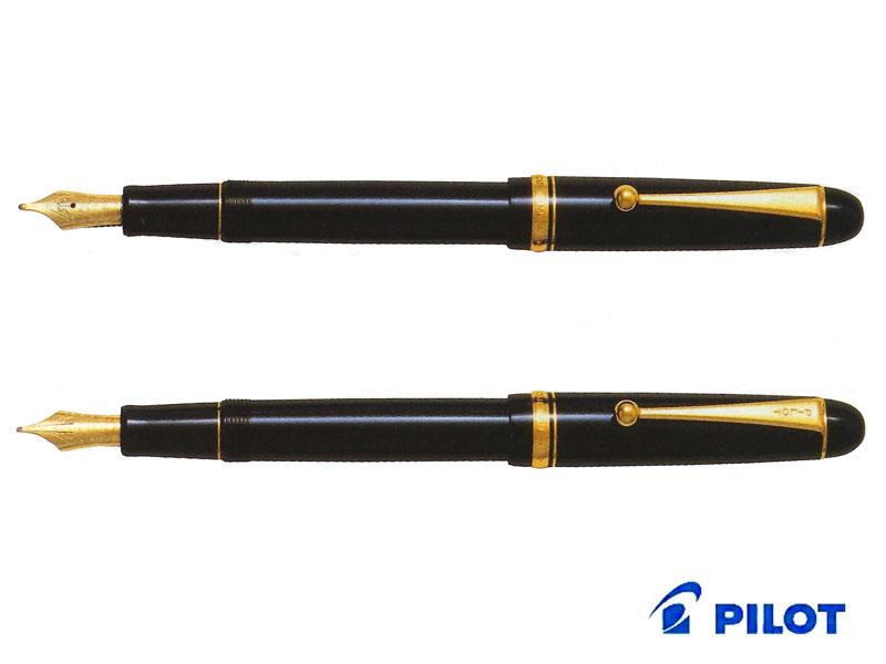【万年筆】Pilot パイロットカスタムCustom 74 FKKN-14SRブラック・コース/ブラック・ミュージックペン先:C/MS