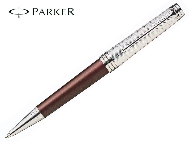 【ボールペン】PARKERパーカーPREMIERプリミエクリムゾンレッドRTボールペン