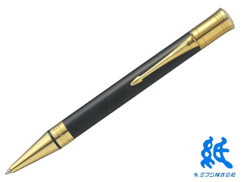 【ボールペン】PARKERパーカーDUOFOLDデュオフォールドブラックGTボールペン