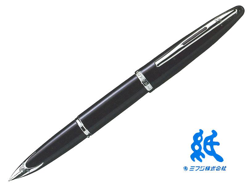 【万年筆】WATERMANウォーターマンCARENEカレンブラック・シーST万年筆(EF~B)18金ペン先