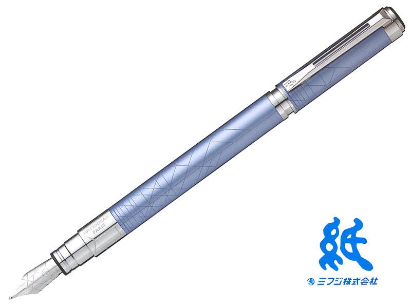 【万年筆】WATERMANウォーターマンPERSPECTIVEパースペクティブデコレーション ブルーCT万年筆 (F~M)ステンレスペン先