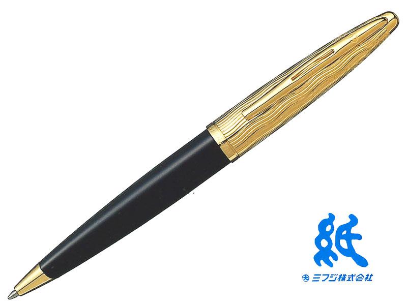 【ボールペン】WATERMANウォーターマンCARENE Deluxeカレン・デラックスエッセンシャル ブラックGTボールペン