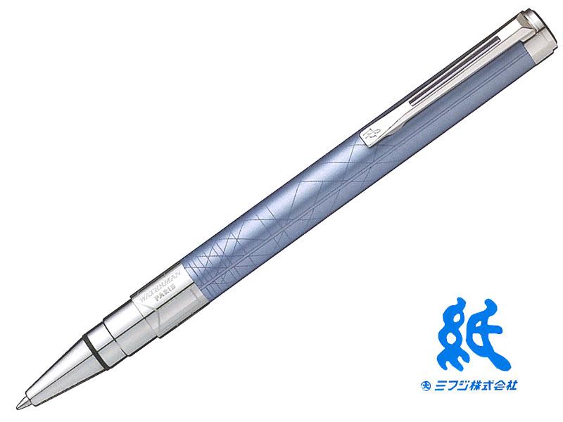 【ボールペン】WATERMANウォーターマンPERSPECTIVEパースペクティブデコレーション ブルーCTボールペン