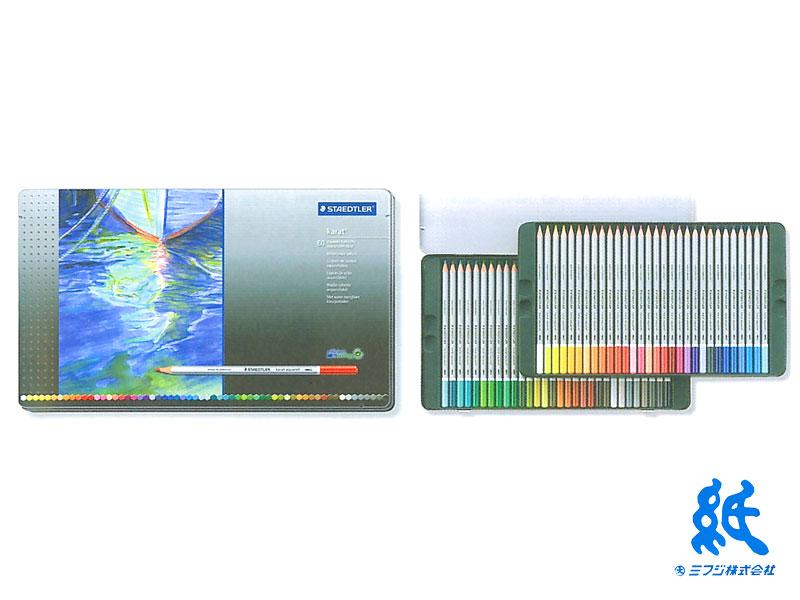完璧 【STAEDTLERステッドラー】カラト アクェレル水彩色鉛筆60色セット 125M60 125M60, 神棚の里:5d7f8825 --- plateau.ru