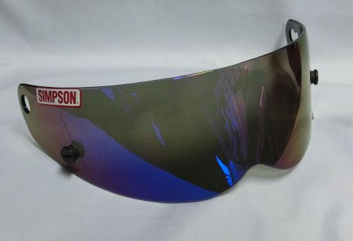 SIMPSON (シンプソン) USA 純正 バンディット S.B用 イリジウム シールド 並行輸入品