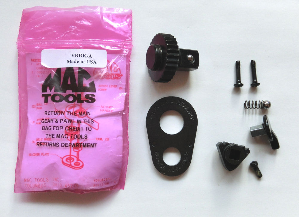 Mac 的工具 (Mac) 1 / 2 棘轮修理零件 VRRK A 平行进口