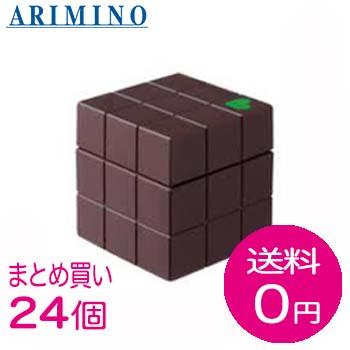 【まとめ買いで送料無料】アリミノ ピース ハードワックス チョコ(80g)24個