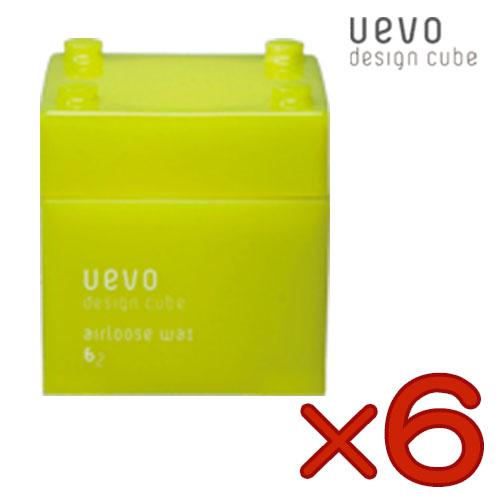 【まとめ買い・6個】ウェーボ デザインキューブ エアルーズワックス 80g