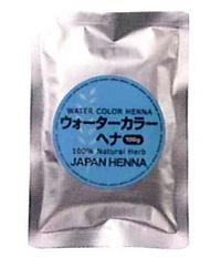 ウォーターカラー ヘナ 【大容量】【JAPAN HENNA】