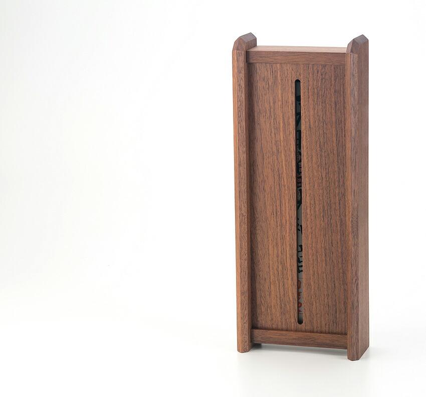 神棚 モダン 壁掛け 置き型 【Kagari ウォールナット】 シンプル 一社 ウォールナット 送料無料