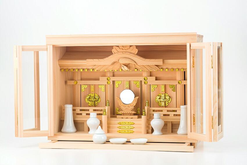 箱宮三社 箱宮20号 神棚セット 箱型神棚